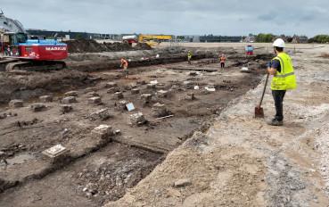 Archeologisch opgraving Molen De Vrijheid