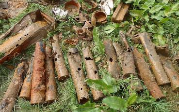 Gecombineerd explosieven en archeologisch onderzoek